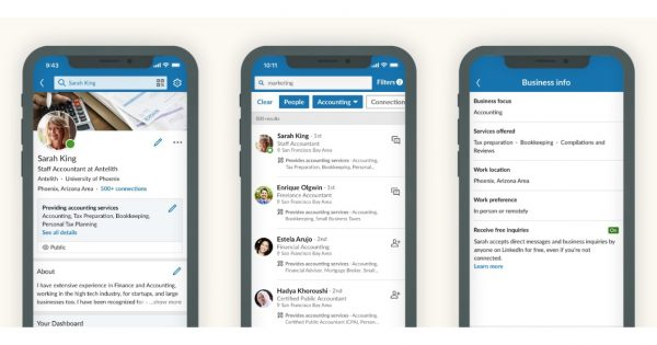 LinkedIn Adds Ways for Members to Find Service Providers or Freelancers for Projects – Adweek