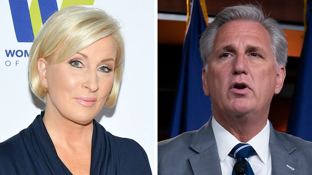 MSNBC host Mika Brzezinski attacks 'pathetic' Kevin McCarthy: 'He just has no self-respect'
