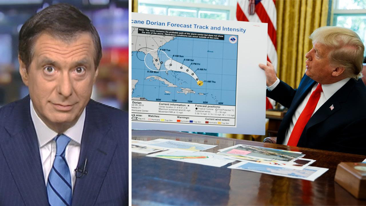 Perfect storm: Media pound Trump over 'Sharpie-gate' hurricane map