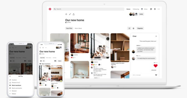 Pinterest Adds New Features to Its Group Boards – Adweek