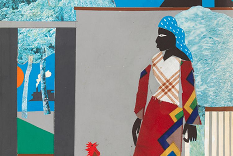 Portraits of the artist as a young man: Romare Bearden's autobiographical collages
