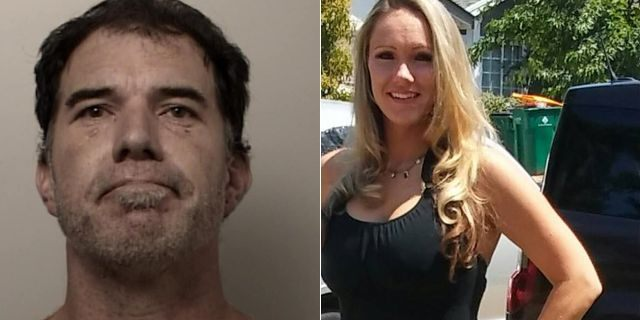 Anthony Gumina, left, was arrested for homicide after the remains of his wife, Heather Waters, were discovered Friday, officials said.