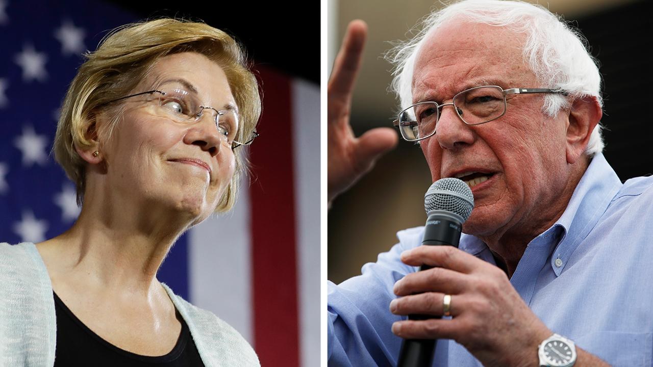 Sanders, Warren avoid direct attacks during dueling events in 'must win' New Hampshire