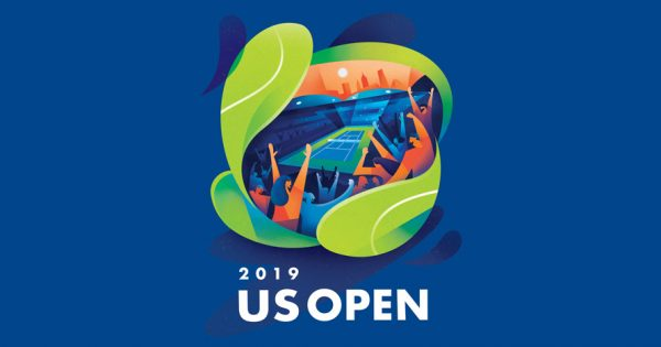 The Inspiration Behind the 2019 US Open's Bright and Bold Poster – Adweek