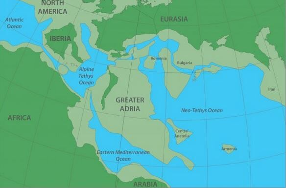 There's a lost continent hiding beneath Europe