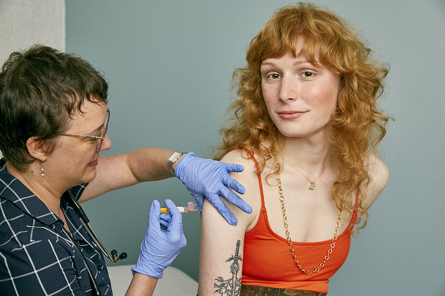 Vaccines Now Have Medically Accurate, Inclusive and Free Stock Photos, Thanks to Self – Adweek