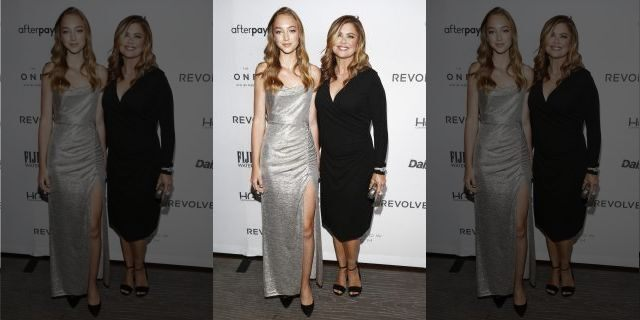 Chloe Olsen (L) and Kathy Ireland attend The Daily Front Row