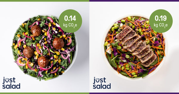 Just Salad Will Add Carbon Labeling to Its Menu Items – Adweek