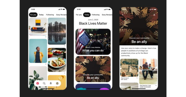 Pinterest Adds Features to Support Black Lives Matter – Adweek