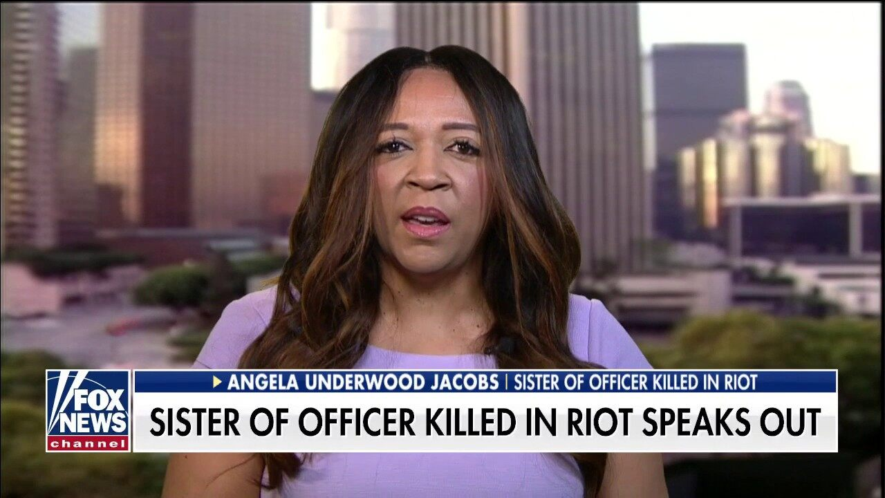 Sister of California officer killed in George Floyd riots: 'We need to come together as a society'