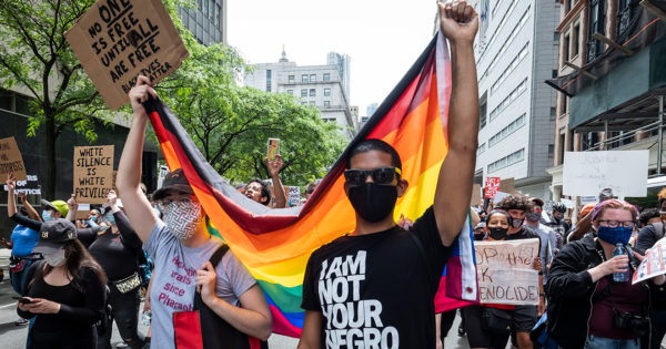 Why Pride Festivals Are Becoming Black Lives Matter Protests – Adweek
