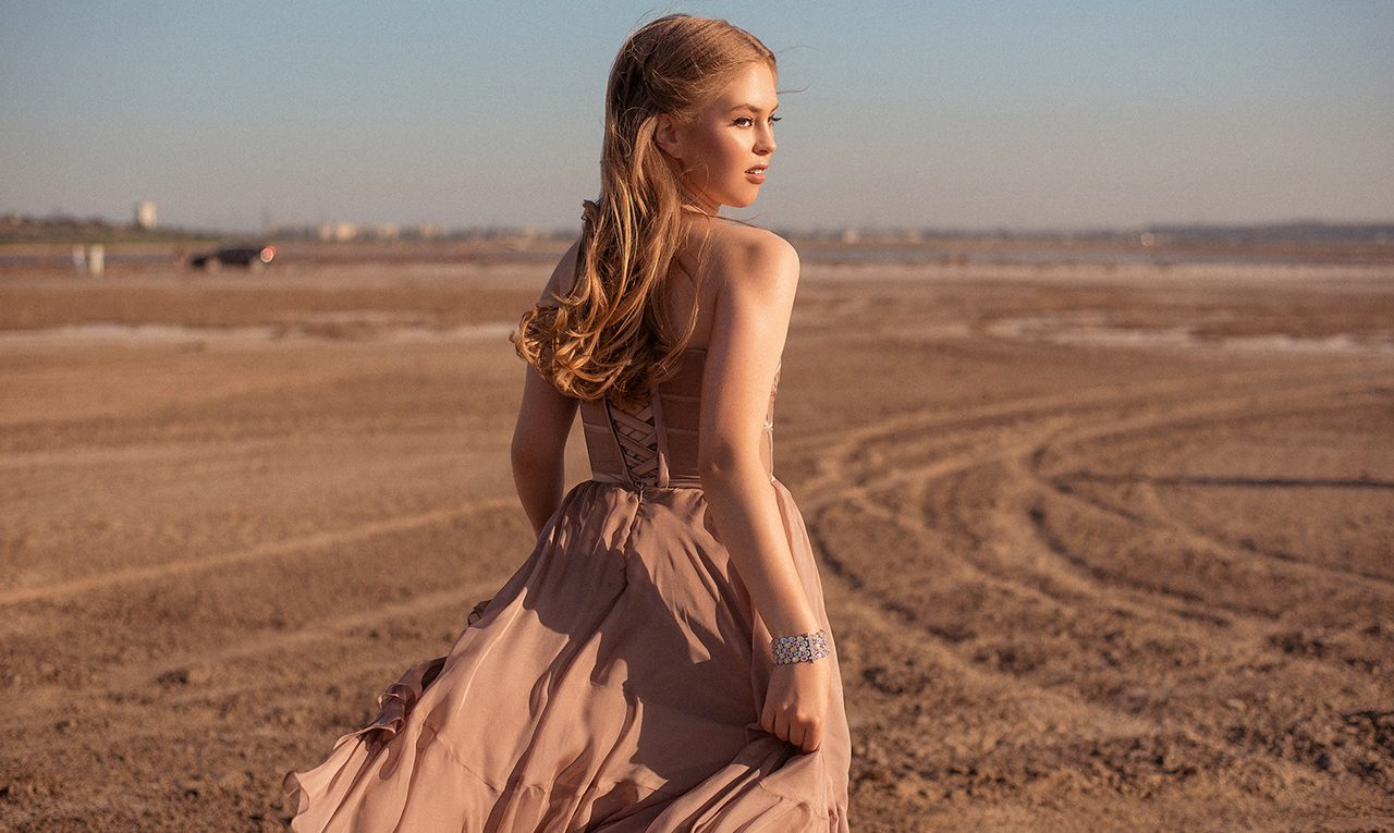 Top model Anastasiia Bondarchuk speaks about filming of the NANOJY campaign and working with luxury brands