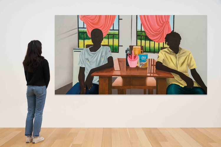 Christie's exhibition of Black art is not about virtue signalling, curator says