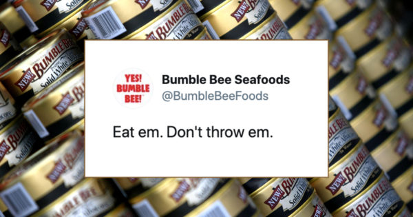 Bumble Bee Tuna Effortlessly Brushes Off Trump Comments About Its Cans Being Anti-Police Weapons