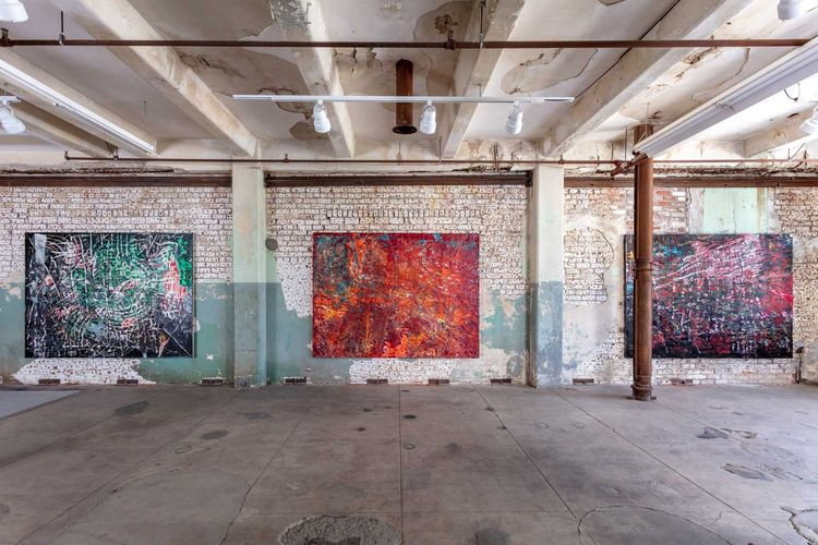 For no eyes only: Mark Bradford's quarantine paintings push the bounds of virtual art viewing