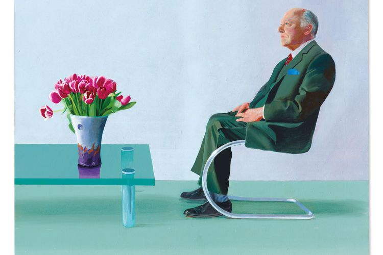 The Royal Opera House's David Hockney painting sells for £12.8m at Christie's amid deaccessioning debate