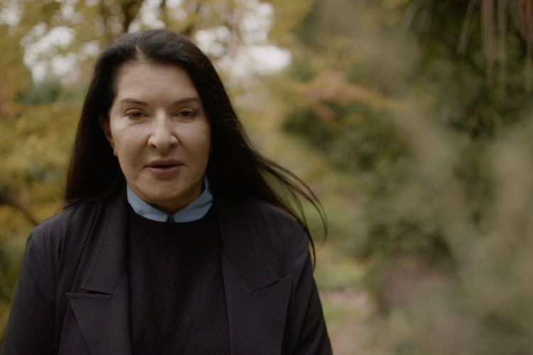 Exclusive video: Marina Abramovic advises public to complain to a tree to help heal from 2020