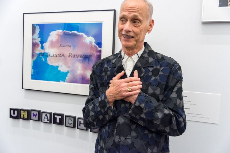 John Waters, the 'Pope of Trash', gives his treasures to Baltimore Museum of Art