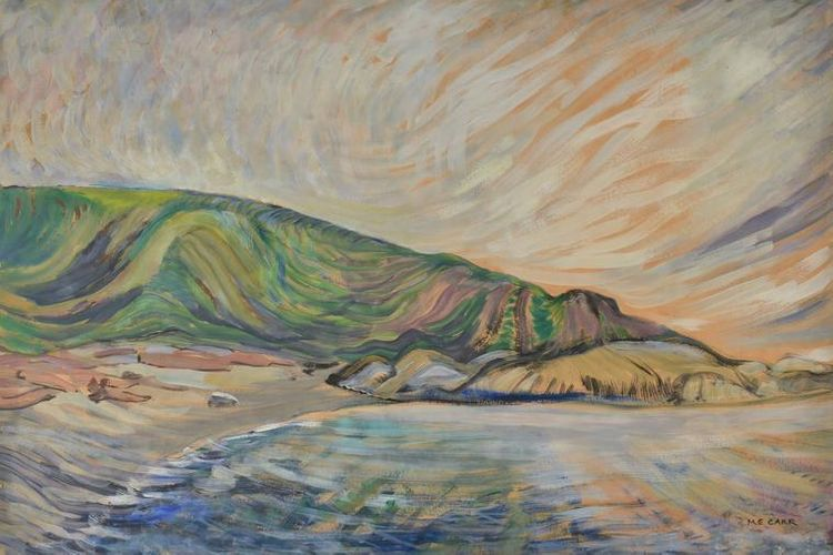 Never before seen Emily Carr works go from family fireplace to Canadian museum