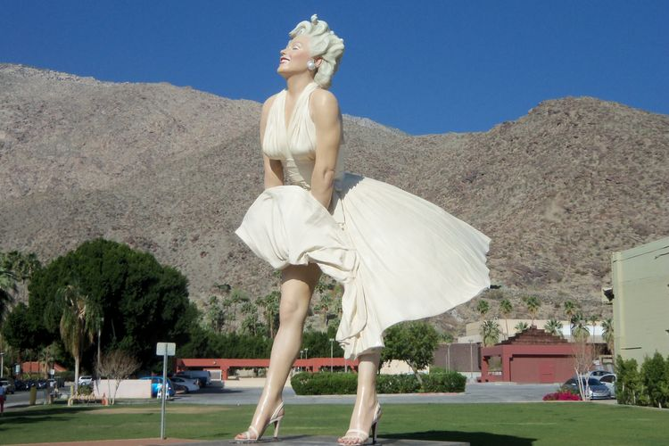 Provocative Marilyn Monroe sculpture to return to Palm Springs—permanently