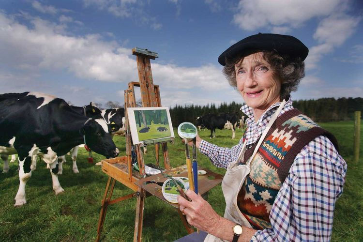 Remembering Lindy Dufferin, artist and entrepreneur who used her Northern Ireland home as a centre of community and cultural exchange