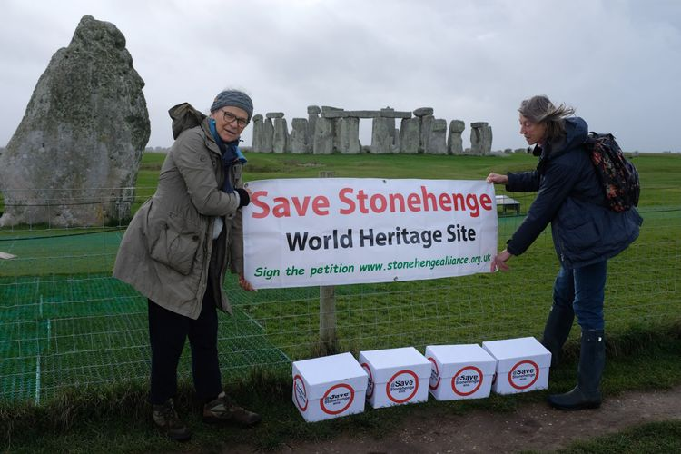 Stonehenge campaign group plans to sue UK government over controversial tunnel scheme