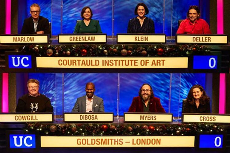 Fingers on buzzers.... Courtauld takes on Goldsmiths in arty University Challenge