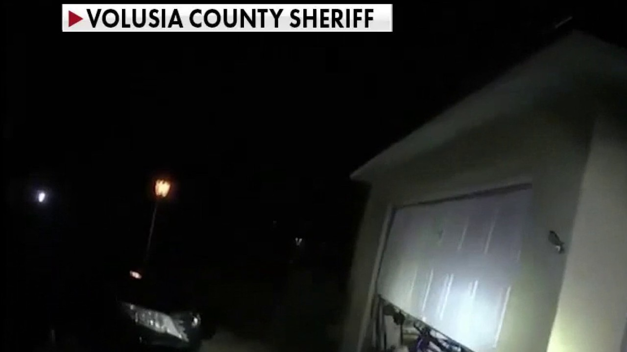 Florida deputies seen in video nabbing home invasion suspects who tied up family, carrying girl to safety
