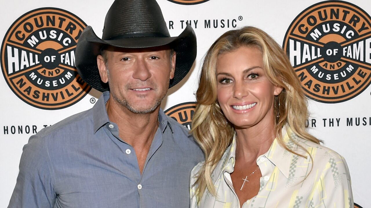 Tim McGraw jokes Faith Hill is 'trying to get rid of' him before Christmas