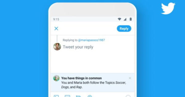 Twitter to Users: 'You Have Things in Common'