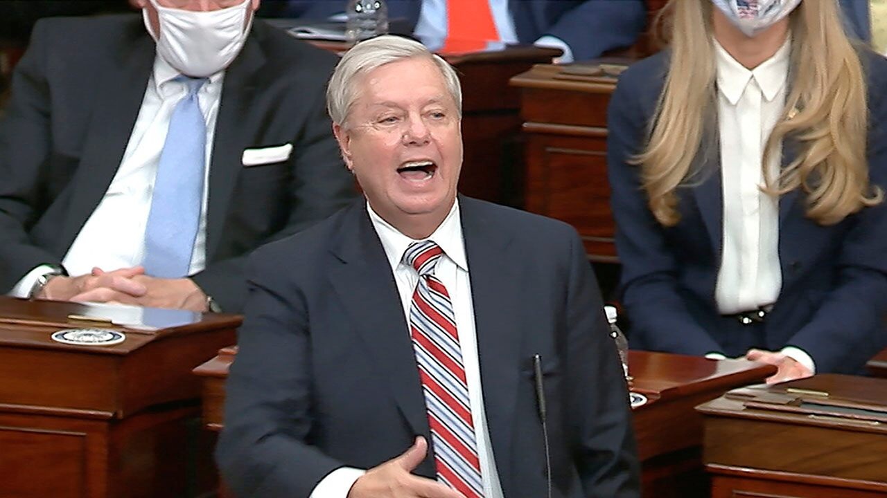 Graham calls Biden 'lawfully' elected, says 'enough is enough' following breach of Capitol
