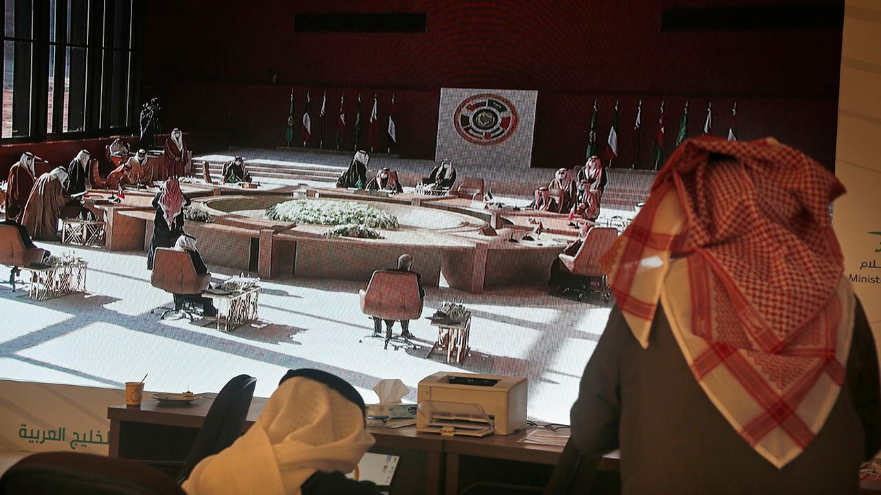 Gulf Arab leaders sign declaration with Qatar to ease rift