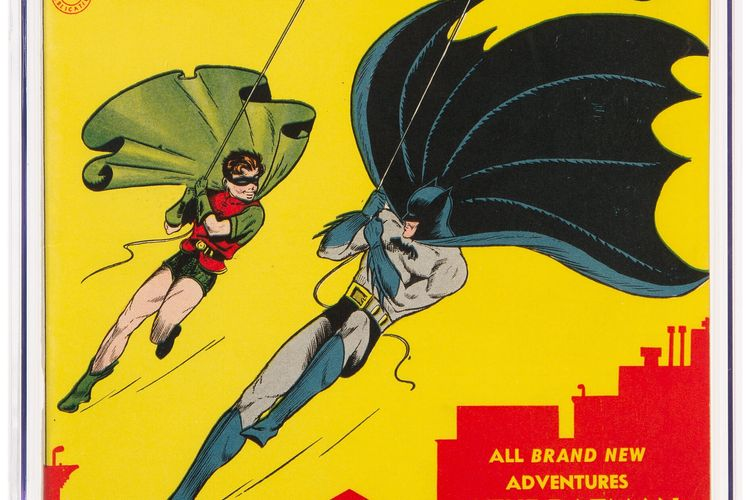Holy hammer: Near mint copy of Batman #1 sells for record $2.2m at Heritage Auctions