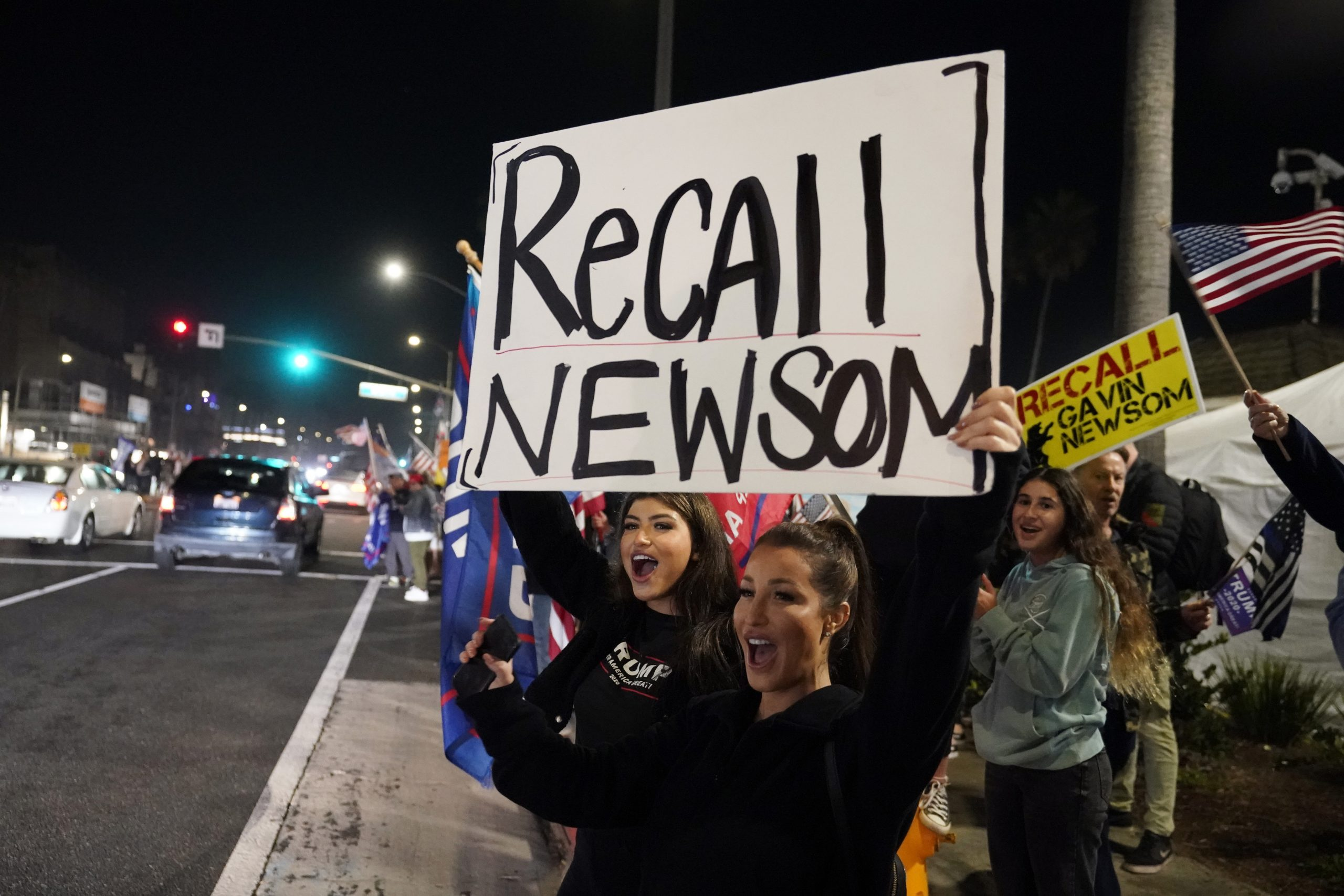 Newsom recall effort draws support from GOP ex-San Diego mayor -- who may challenge Dem
