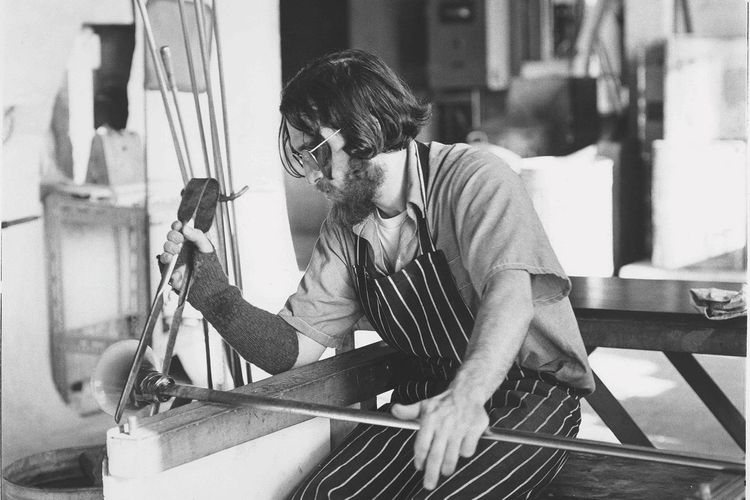 Remembering Sam Herman, pioneering glass artist and teacher who also won recognition for his paintings and welded-steel sculptures