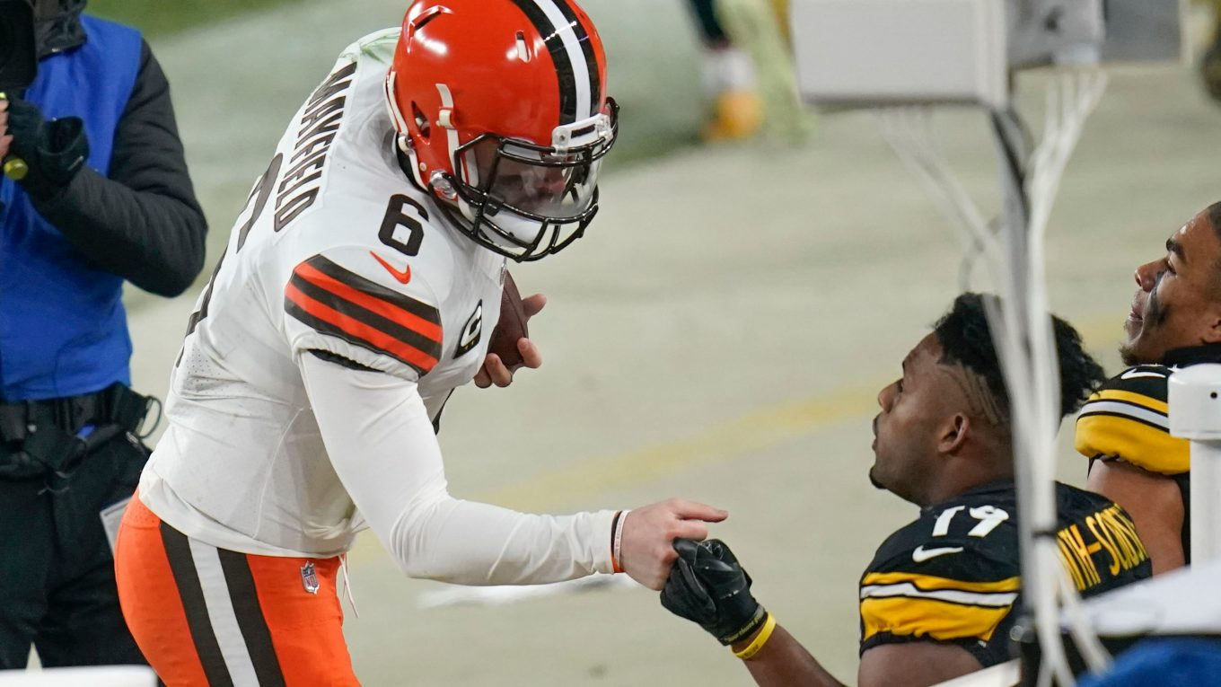 Steelers' JuJu Smith-Schuster stands by 'the Browns is the Browns' comment after wild-card loss