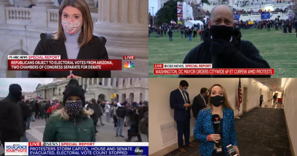 TV Newsers on Reporting During the US Capitol Insurrection