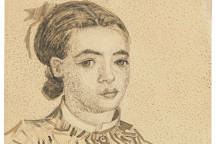 Van Gogh's Japanese girl could fetch record $10m at auction