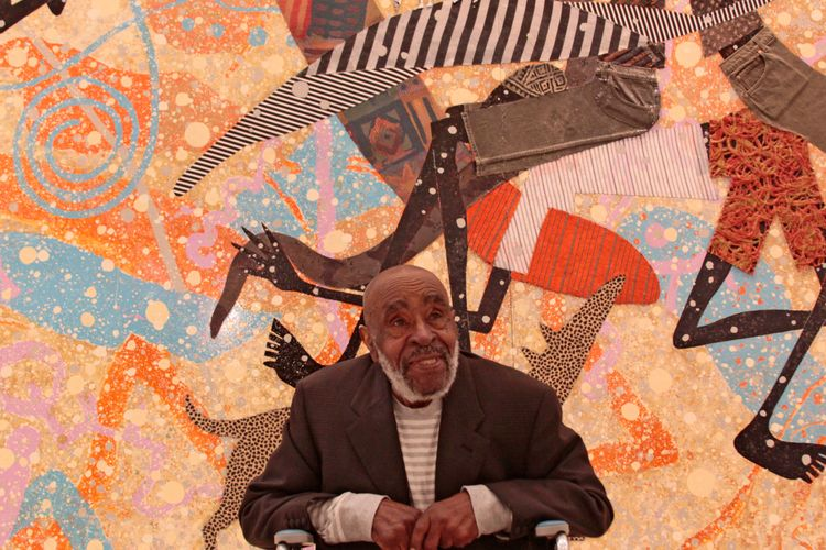 Artist Charles McGee, a central figure in Detroit's art scene, has died, aged 96