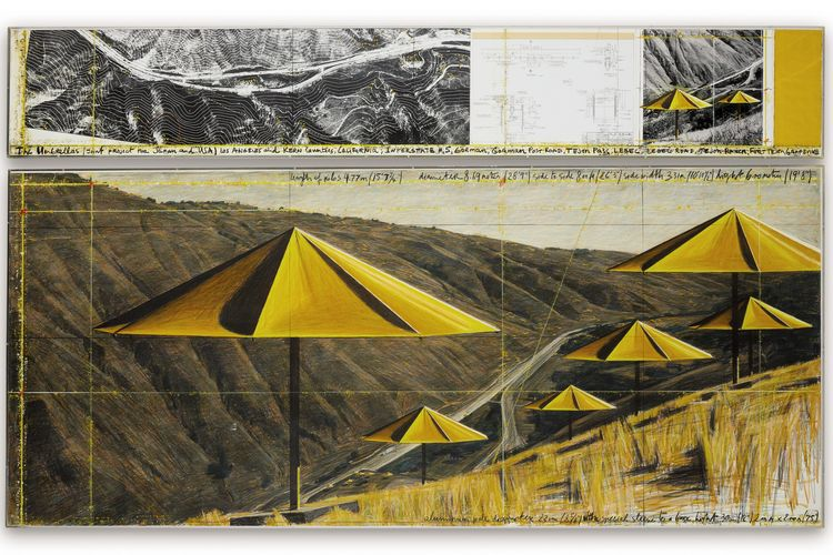 First Paris sale of Christo and Jeanne-Claude's art collection brings in nearly $10m