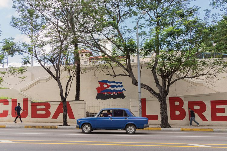 With the country labelled a 'terror sponsor' and the government claiming activists are CIA agents, Cuba's artists are stuck in the crossfire