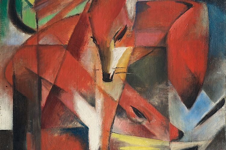 German Nazi-looted art panel recommends return of Franz Marc's Foxes to heirs of Jewish banker