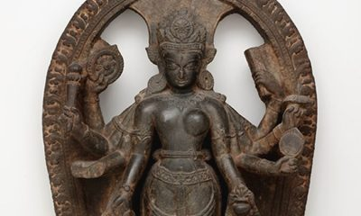 Looted in the 1980s, a sacred stele at the Dallas Museum of Art is headed back to Nepal