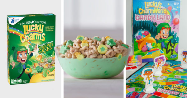 Lucky Charms Keeps Kids Entertained This St. Patrick's Day