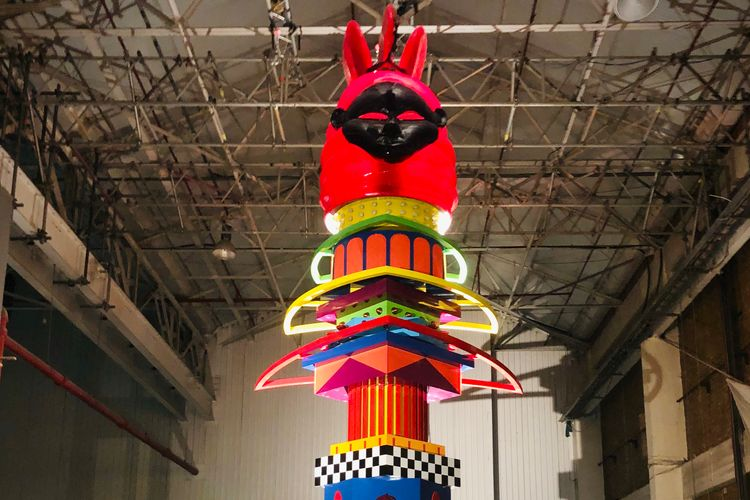 Sculptor Zac Ové creates monumental Afrofuturistic rocket ship with nowhere to land