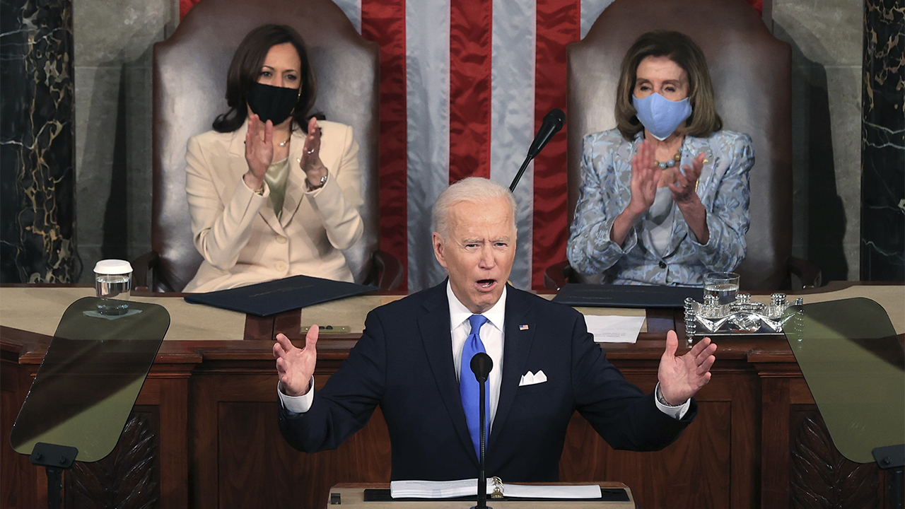 Biden address to Congress draws just 22.6 million viewers, less than half of Trump's audience in 2017