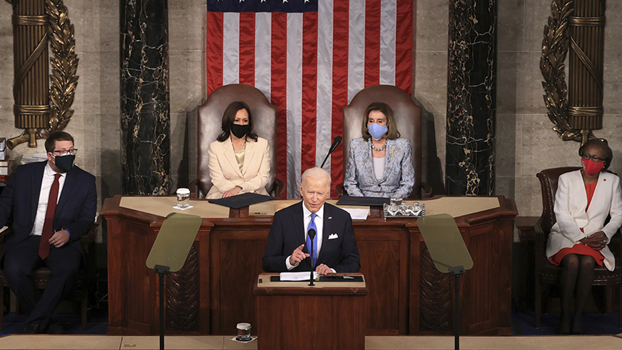 President Biden's address to Congress: The top 5 moments
