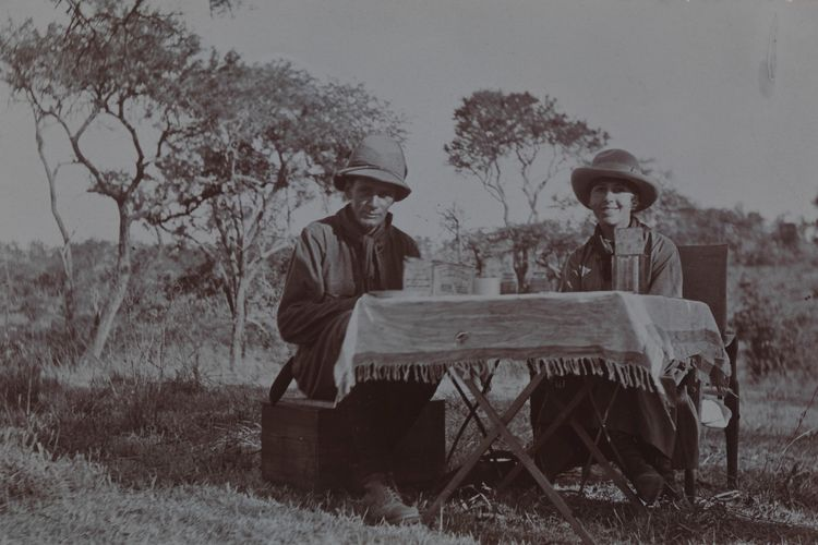 Out of Africa and into Messums: UK gallery launches new photography department with vintage prints of Karen Blixen's life in Kenya