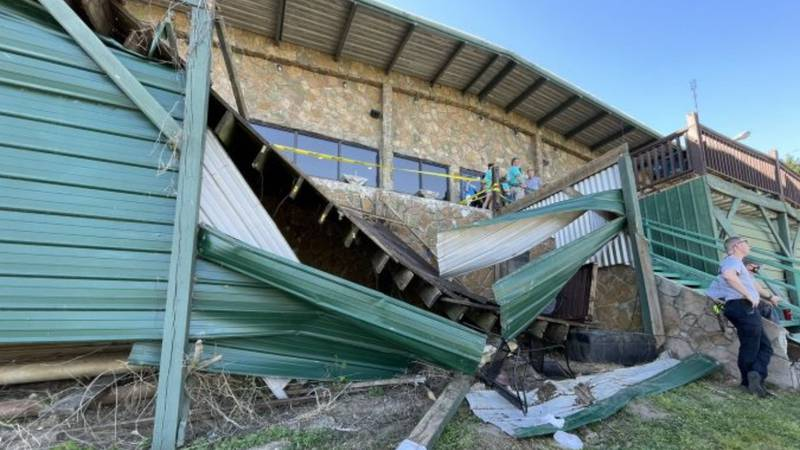Tennessee deck collapse: At least 11 injured, critically