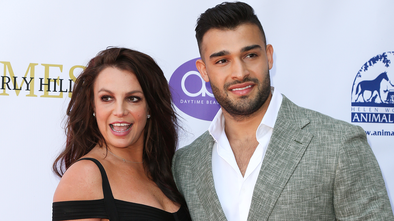 Britney Spears' boyfriend Sam Asghari is her biggest supporter, source says: 'She leans on him for everything'